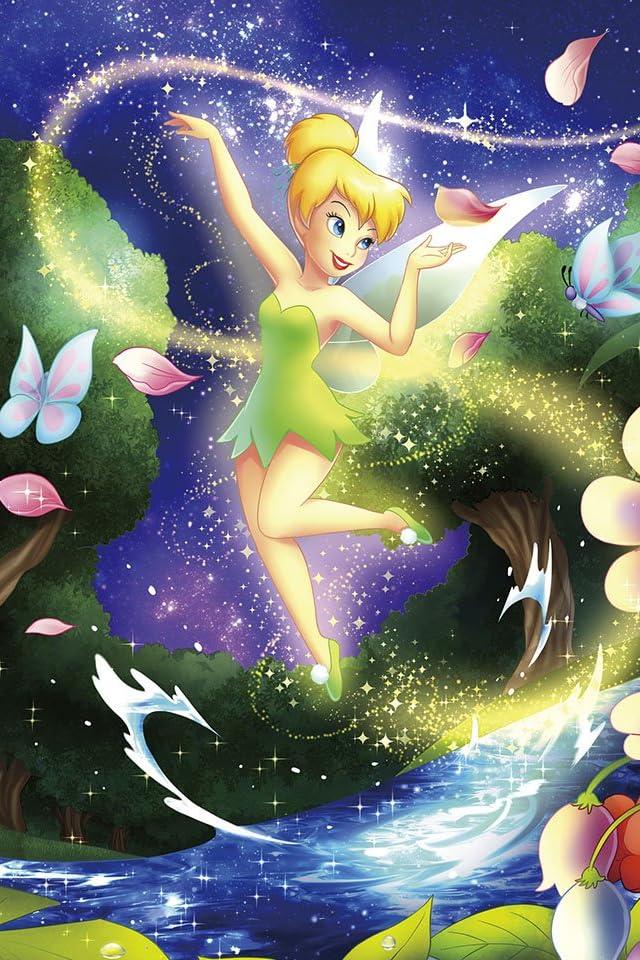 ディズニー ピーターパン フェアリー・ライト iPhone(640×960)壁紙画像