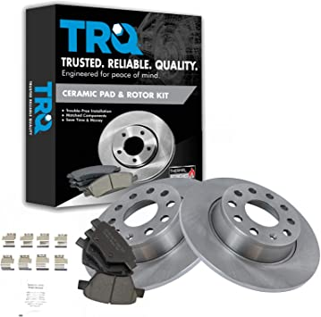 Seat Brake Discs Full Axle Set 312mm Vented Fits Audi Front Brake Pads
