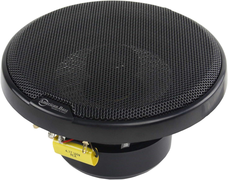 American Bass Speaker 5.25 Inch 2-Way 120WattsSq5.2 Carbon Fiber