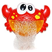 Moonideal Crab Bubble Bath Toy | Music Nursery Rhyme Bubble Blower Machine for Toddler | Let Baby Love Bathing