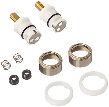 DELTA FAUCETS RP74418 Stem Unit Seat and Spring, Bonnet Nut and ...