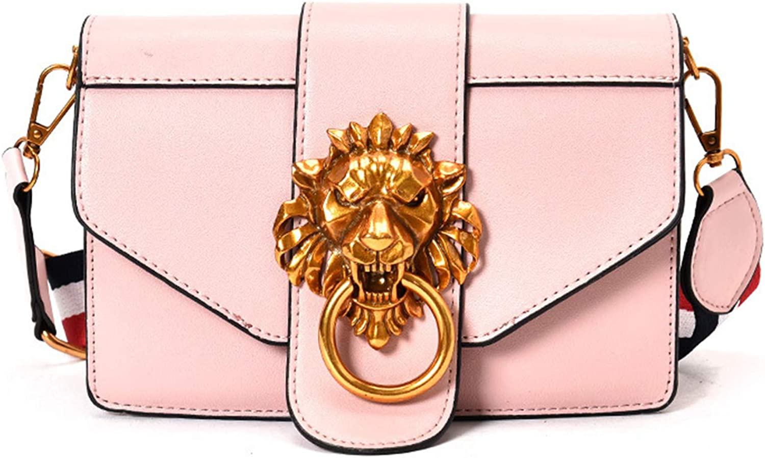 Shoulder Lion PU Leather...