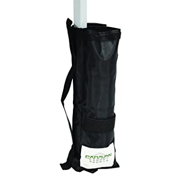 Caravan Canopy Outdoor Canopy Weight Bags - Set of 4 Black  sc 1 st  Amazon.com & Amazon.com : Caravan Canopy Outdoor Canopy Weight Bags - Set of 4 ...