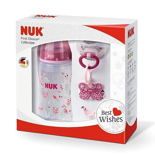 Amazon.com: NUK First Choice Plus Set, juego de botella con ...