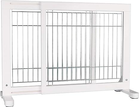 Trixie Barrière Pour Chien Blanc 65 X 108 61 Cm