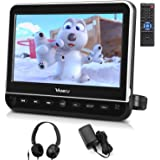 """Vanku 10.1"""" Car DVD Player with Headrest Mount, Wall Charger, Headphone, HDMI, Support 1080P Video, AV in Out, Region Free, U"""