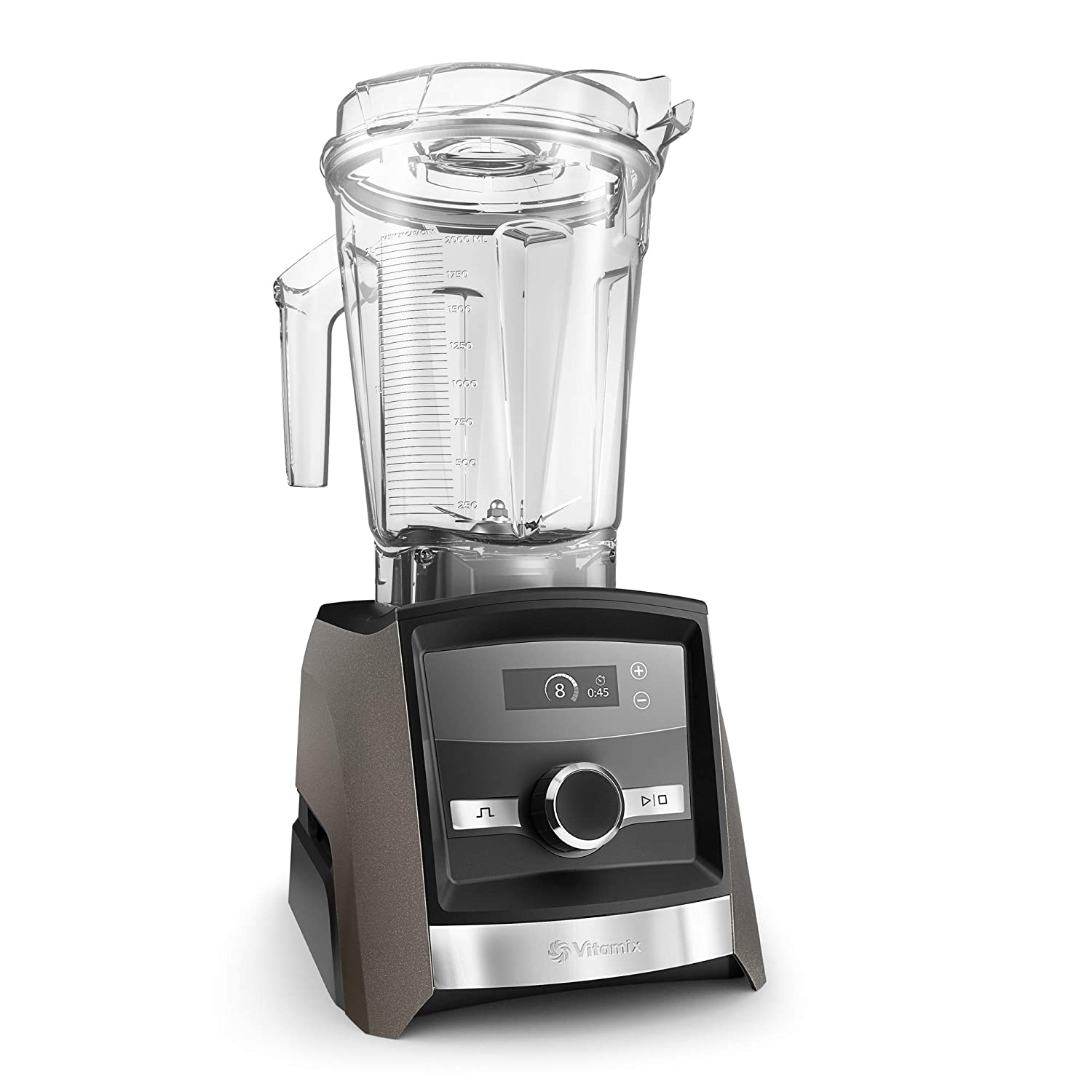 Vitamix A3300 Ascent Series Smart Blender, Professional-Grade, 64 oz. Low-Profile Container, Pearl Gray
