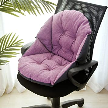 Amazon Com Flax Hanging Egg Chair Cushion Ergonomics Non Slip With Tie Light Purple Increase Kitchen Dining