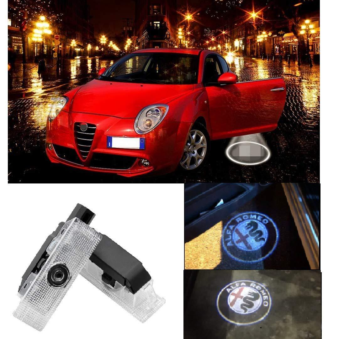 Car Door Lights-2Pcs Welcome Light Projector Lamp Ghost Shadow Led Logo Light