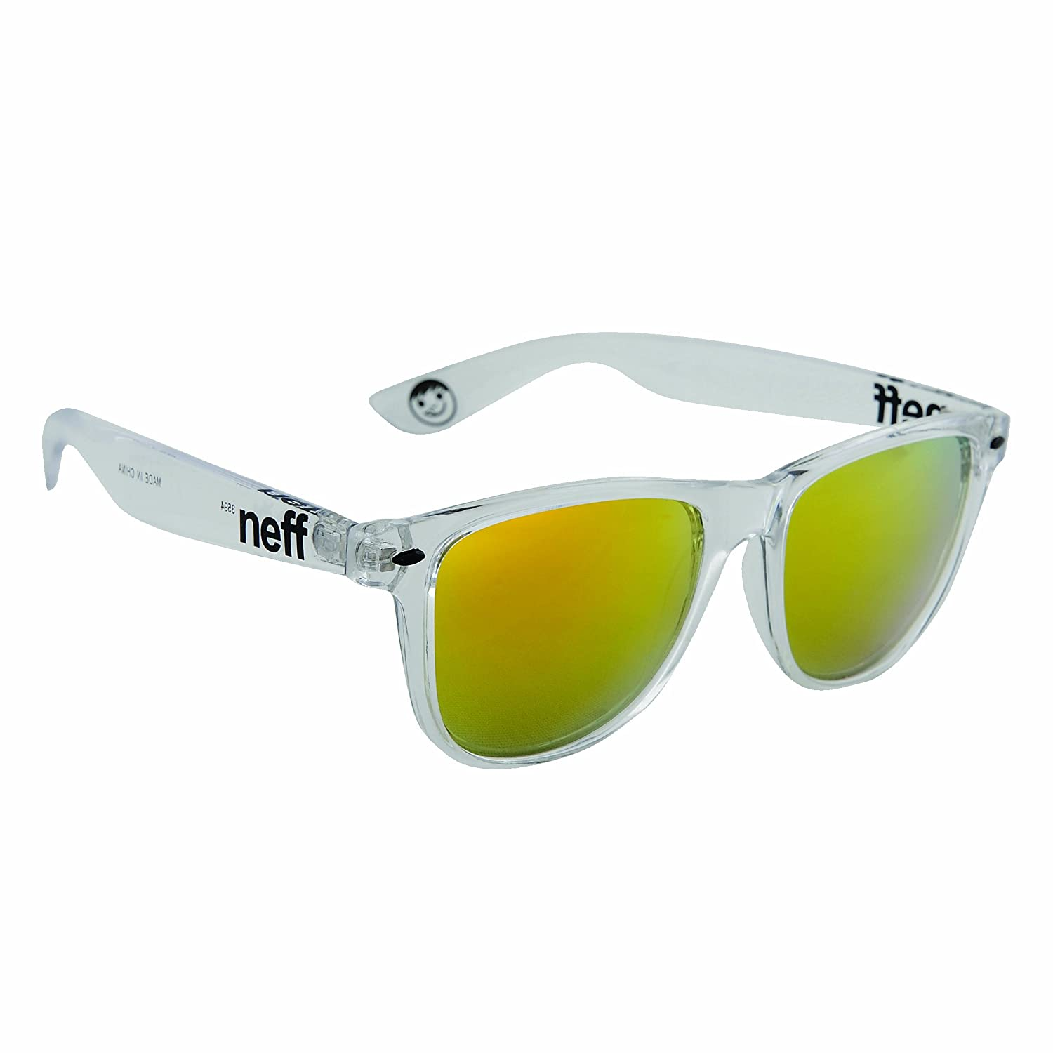 e2d8b56cf4 Amazon.com  Neff Daily Shades Unisex Sunglasses with Cloth Pouch for Men  and Women  Shoes