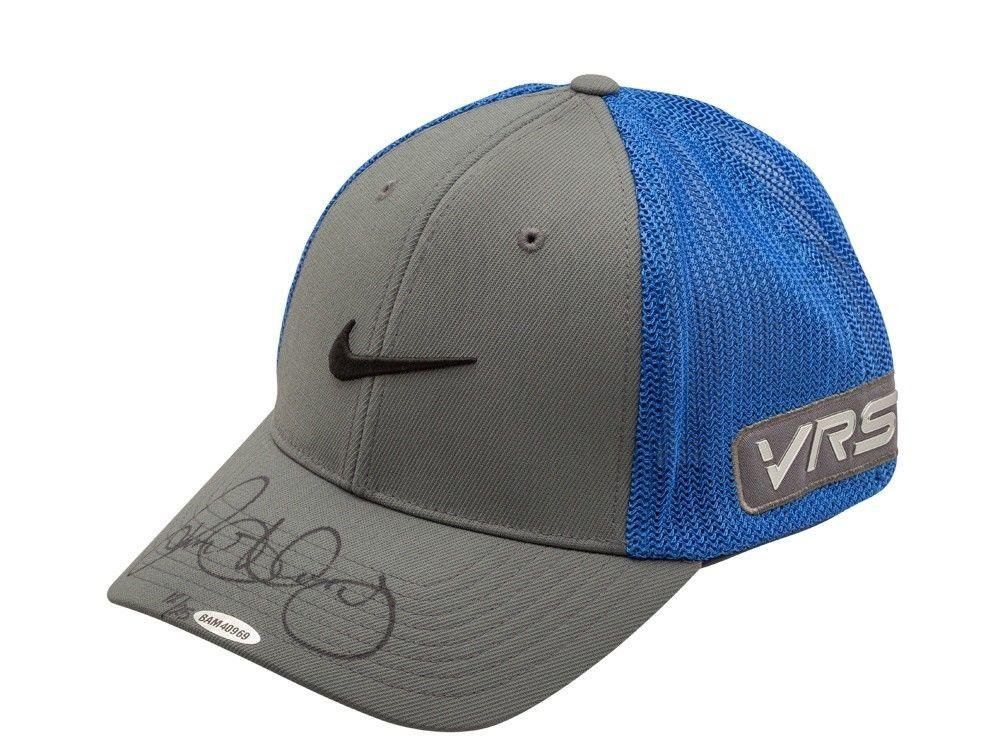 Rory McIlroy Signed Autographed Nike Gray/Blue Flex Fit Golf Hat Limited /25 Upper Deck Certified Autographed Golf Equipment