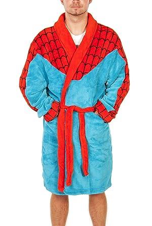 Mens Marvel Comics Spiderman Dressing Gown