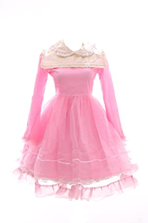 Kawaii-Story JL de 565 – 2 Color Rosa Gothic Lolita Japón Vestido Disfraz Dress