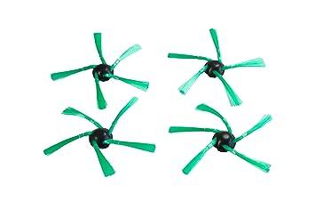 4 Cepillos Laterales para aspiradoras Vorwerk VR200 Kobold de Ha