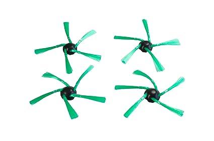 Hannets de cepillos Vorwerk I VR 200 Robot aspiradora Robot Aspirador 4 Cepillos Laterales para Vorwerk