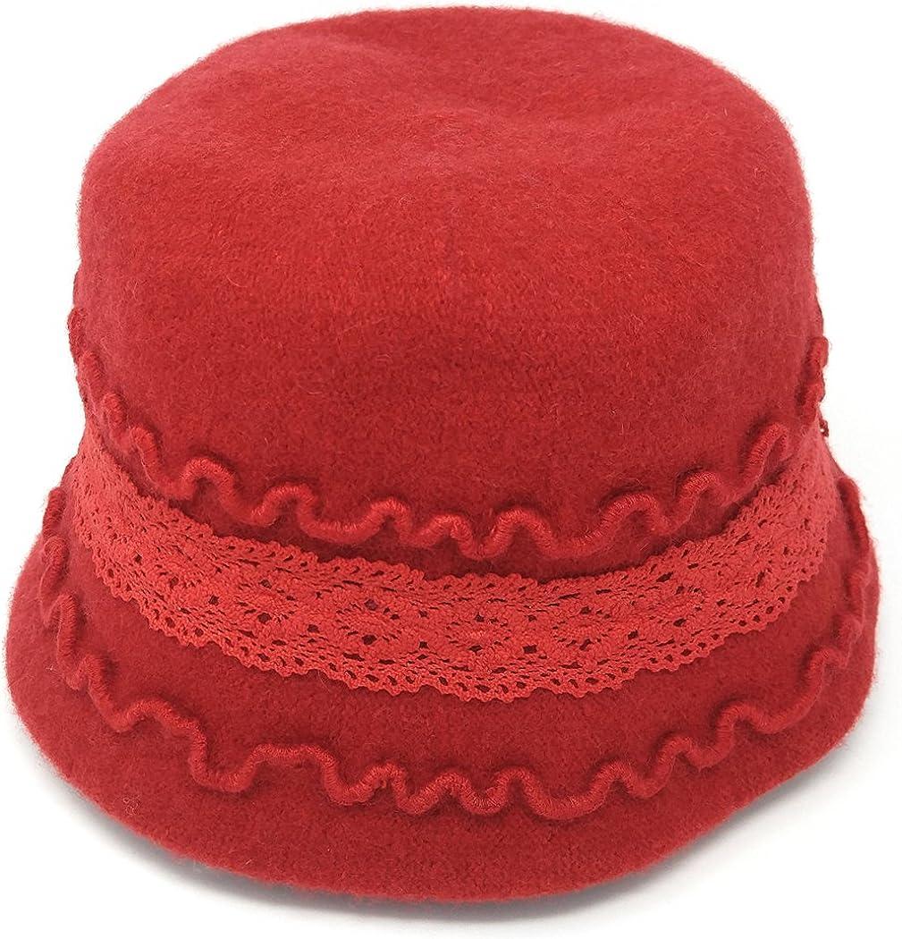 MWS Cute 1920s Warm Wool...