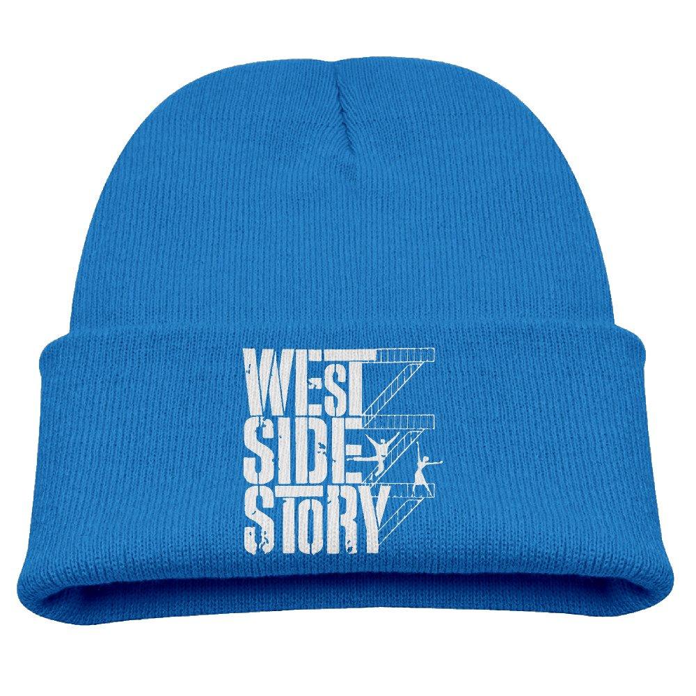 Boys & Girls Beanie Hat West Side Story Skull Cap in 4 Colors