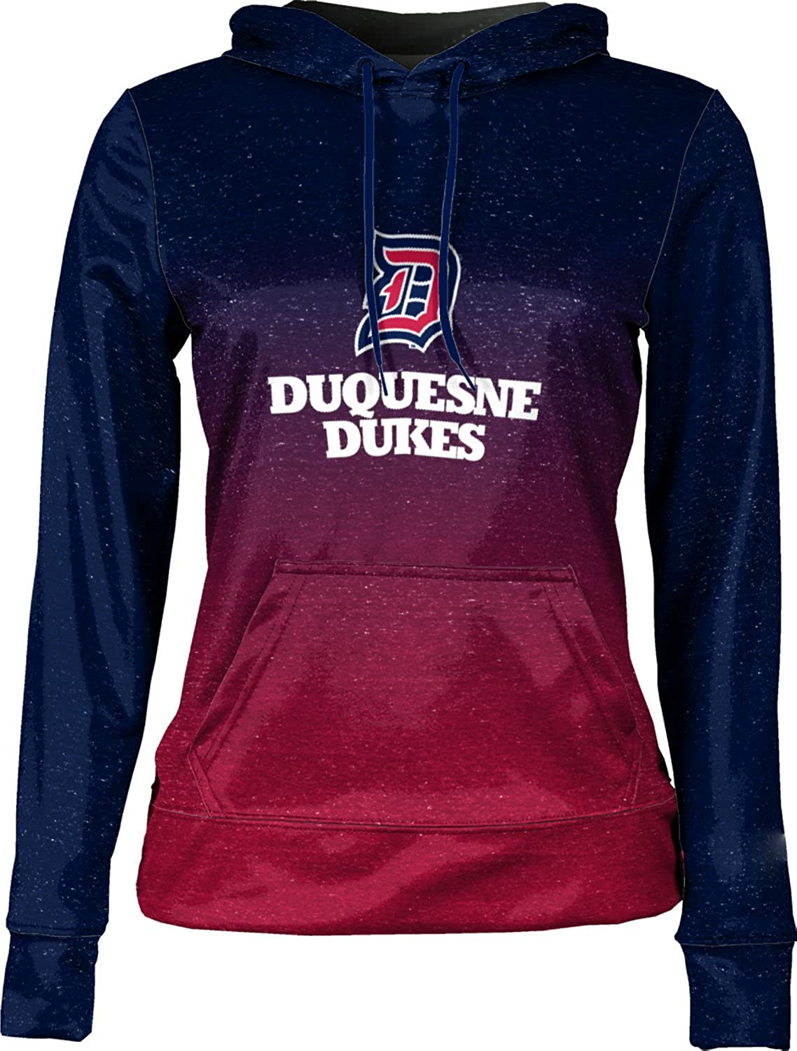 ProSphere Duquesne University Girls Pullover Hoodie School Spirit Sweatshirt Ombre