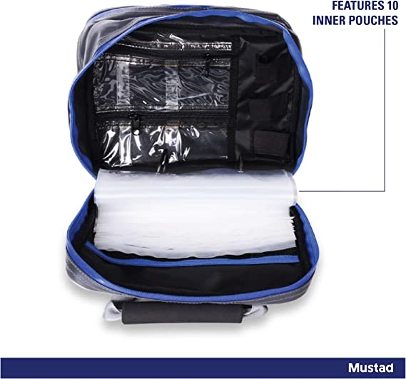 Mustad Dry Gear Single Rig Tidy Wallet for sale online
