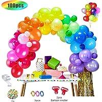 MMTX 100pcs globos de cumpleaños de Diversos Colores