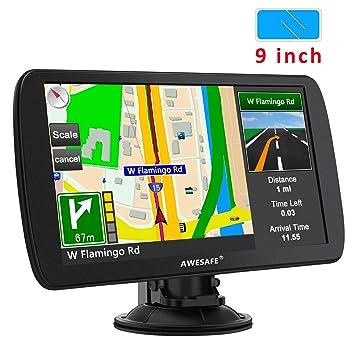 GPS para Coche con Pantalla Táctil HD de 7 Pulgadas Reproductor ...