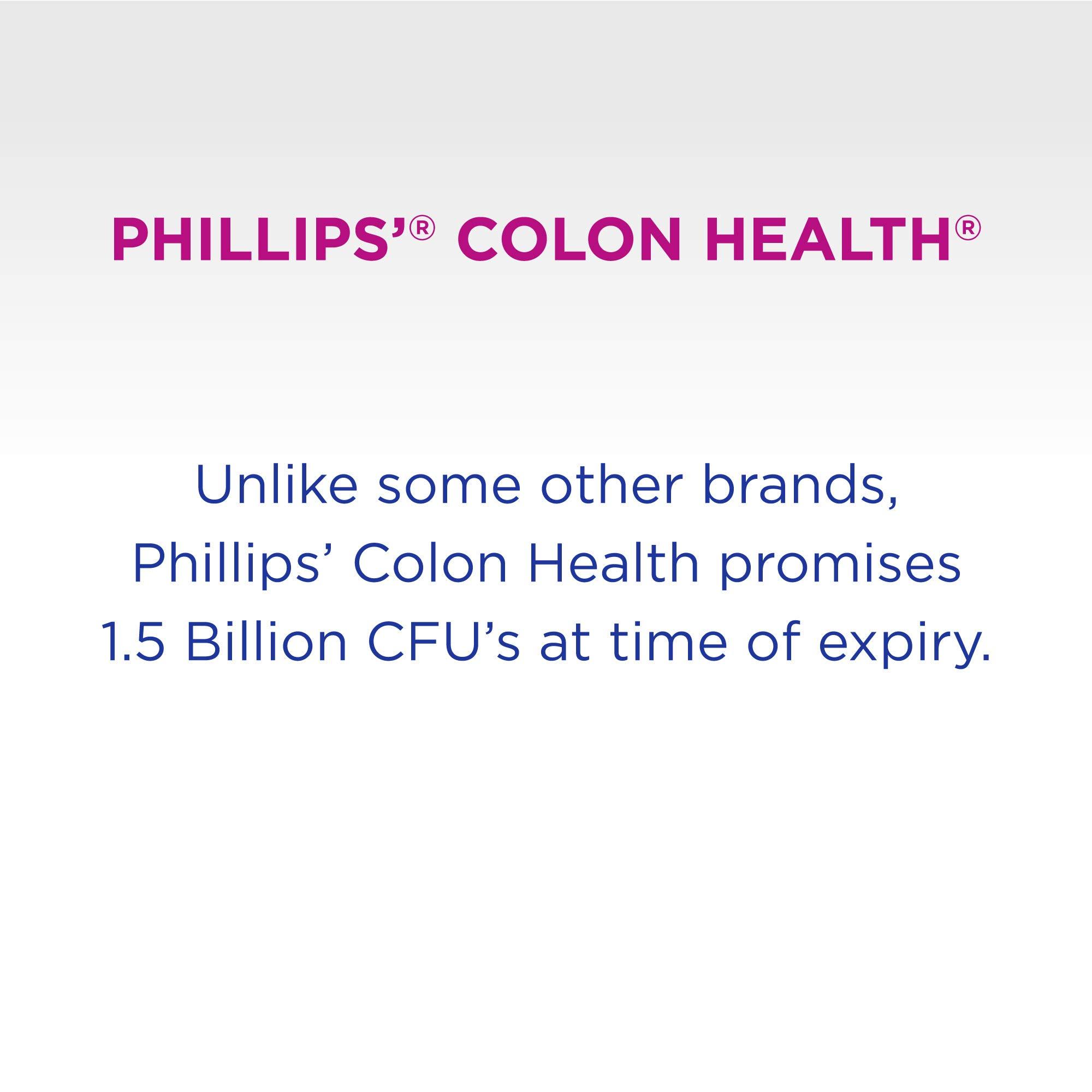 Phillips' Colon Health Probiotic Capsules, 30 Count