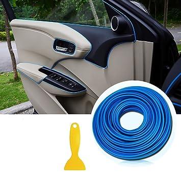 Car Interior Trim Moulding Strips   AUTOMAN 16.4ft Gap Filler Flexible  Decorative Interior Edge Moulding