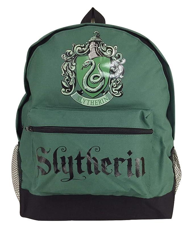 Harry Potter Slytherin Crest Rucksack Backpack …