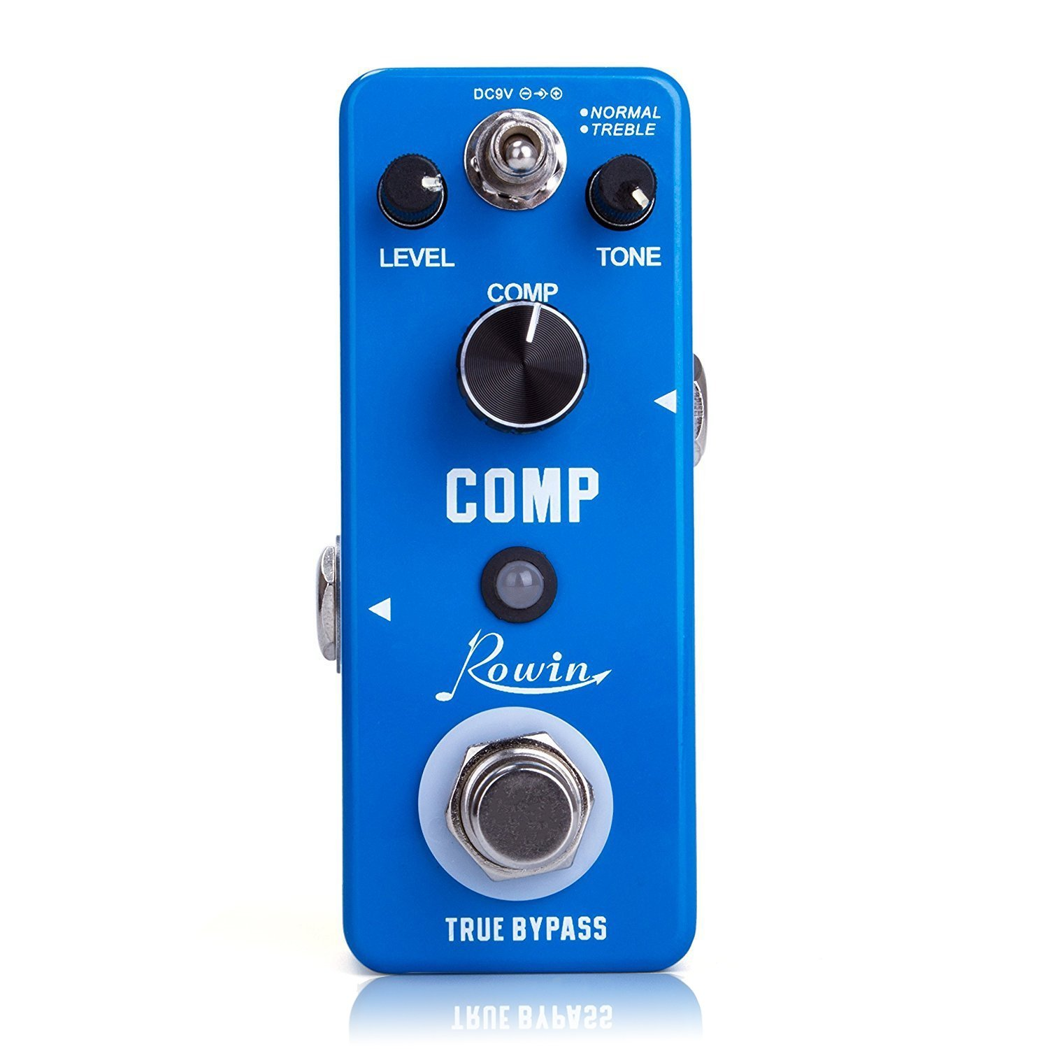 Rowin Compressor Pedal Comp Effect Pedal for Guitar by Rowin
