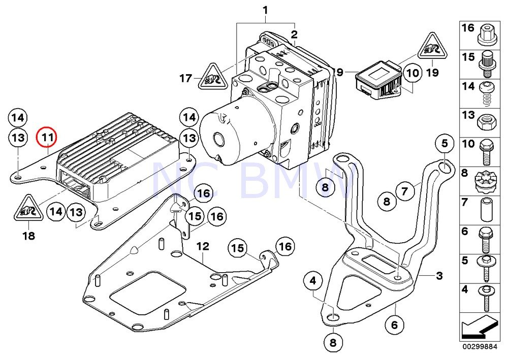 BMW Genuine Icm Control Unit by BMW