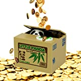 Coin Collecting Panda Bank! Cute Money Saving Bank for the Whole Family