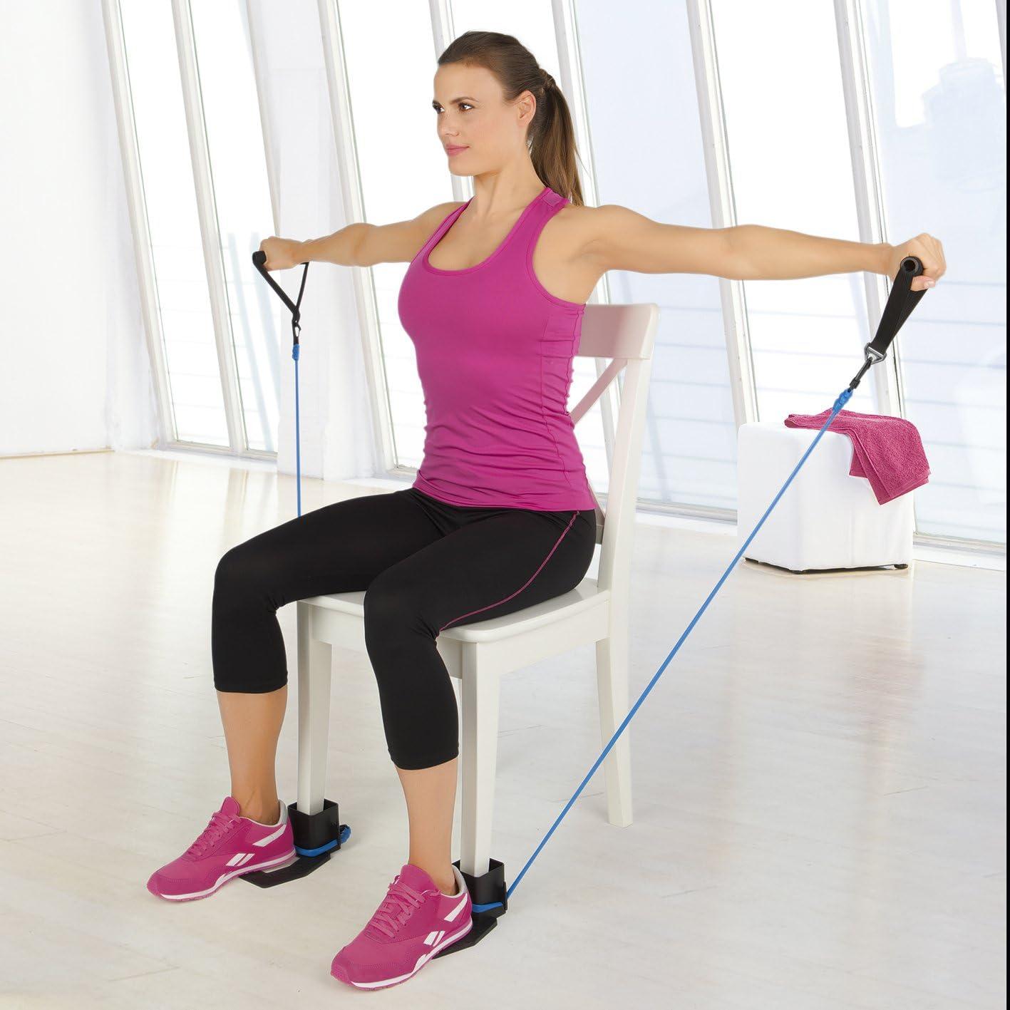 10 tlg Expander Ganzkörper Trainings Set Fitness von VITALMAXX NEU *
