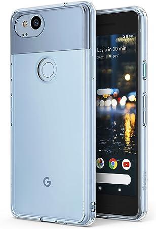 Ringke Funda Google Pixel 2 [Fusion] Transparente al Dorso del PC ...