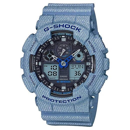 d2fbc60ea4e Buy Casio G-Shock Analog-Digital Black Dial Men s Watch - G758  (GA-100DE-2ADR) Online at Low Prices in India - Amazon.in