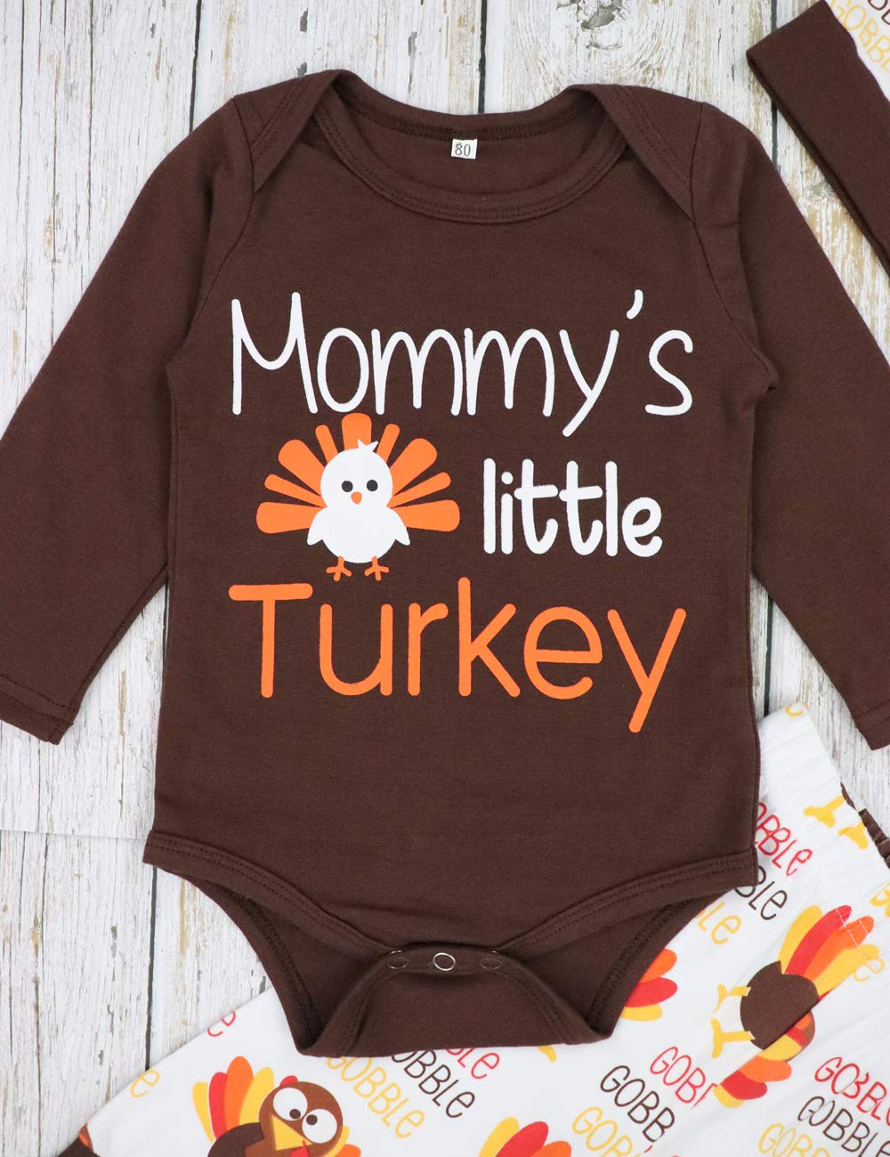 36ac347a400c Baby Boy Girl Thanksgiving Outfit Newborn 1st Thanksgiving Onesie ...