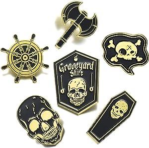 Sweepstakes - FSMILING Gothic Enamel Pin Set Novelty...