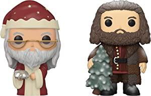 "Funko Harry Potter: POP! Harry Potter Holiday Collector Set 2 - Dumbledore, Hagrid 6"""