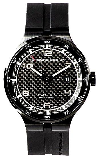 Porsche Design Flat Seis automático Negro PVD Acero Calendario Reloj para hombre 6350.43.04.1254: Porsche Design: Amazon.es: Relojes