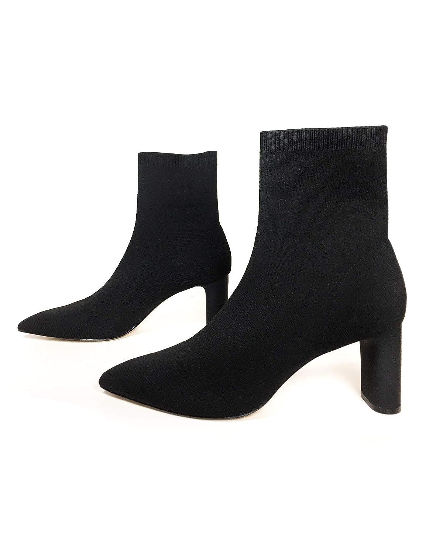 c11458c8250 Amazon.com: Zara Women Fabric high Heel Ankle Boots 5100/301: Shoes