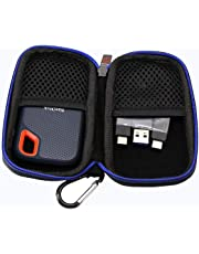 Duro Viaje Estuche Bolso Funda para SanDisk Extreme - Portable SSD 500 GB / 250 GB / 2 TB / 1 TB por GUBEE