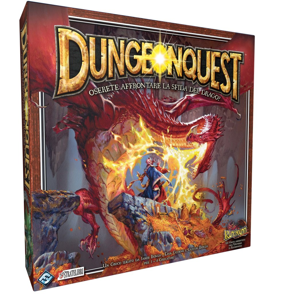 Giochi Uniti Dungeonquest Juego De Mesa Version En Italiano