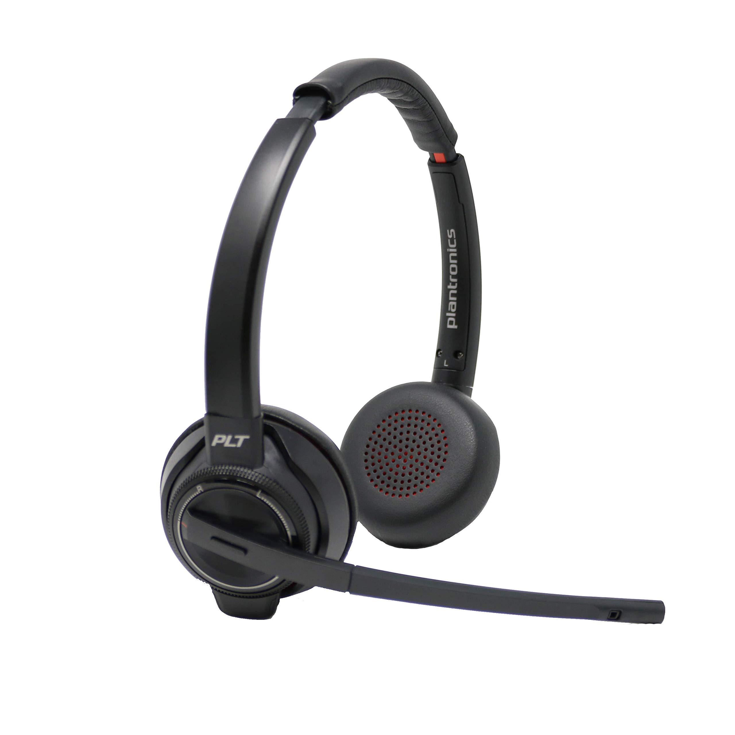Plantronics Savi 8220 Wireless Headset System Bundle with Headset Advisor Wipe by Plantronics (Image #3)