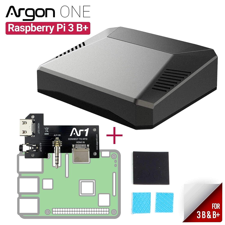 Amazon.com: Argon ONE - Carcasa para Raspberry Pi 3 B+/B ...