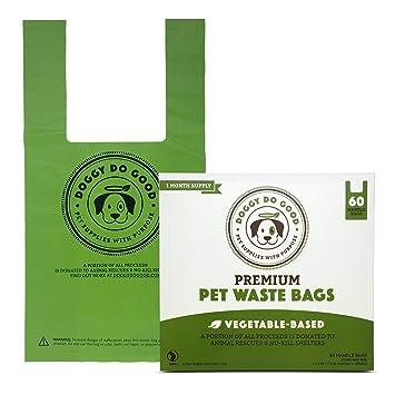 Amazon.com: Doggy Do Good Premium Pet – Bolsas de basura ...