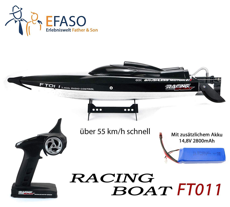 71Pfr49ceKL SL1500 in RC Rennboot FT011 von Feilun