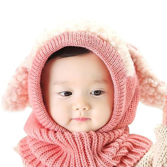 Ecyc Ecyc Knited Winter Hüte Für Kinder Kinder Kaninchen Lange