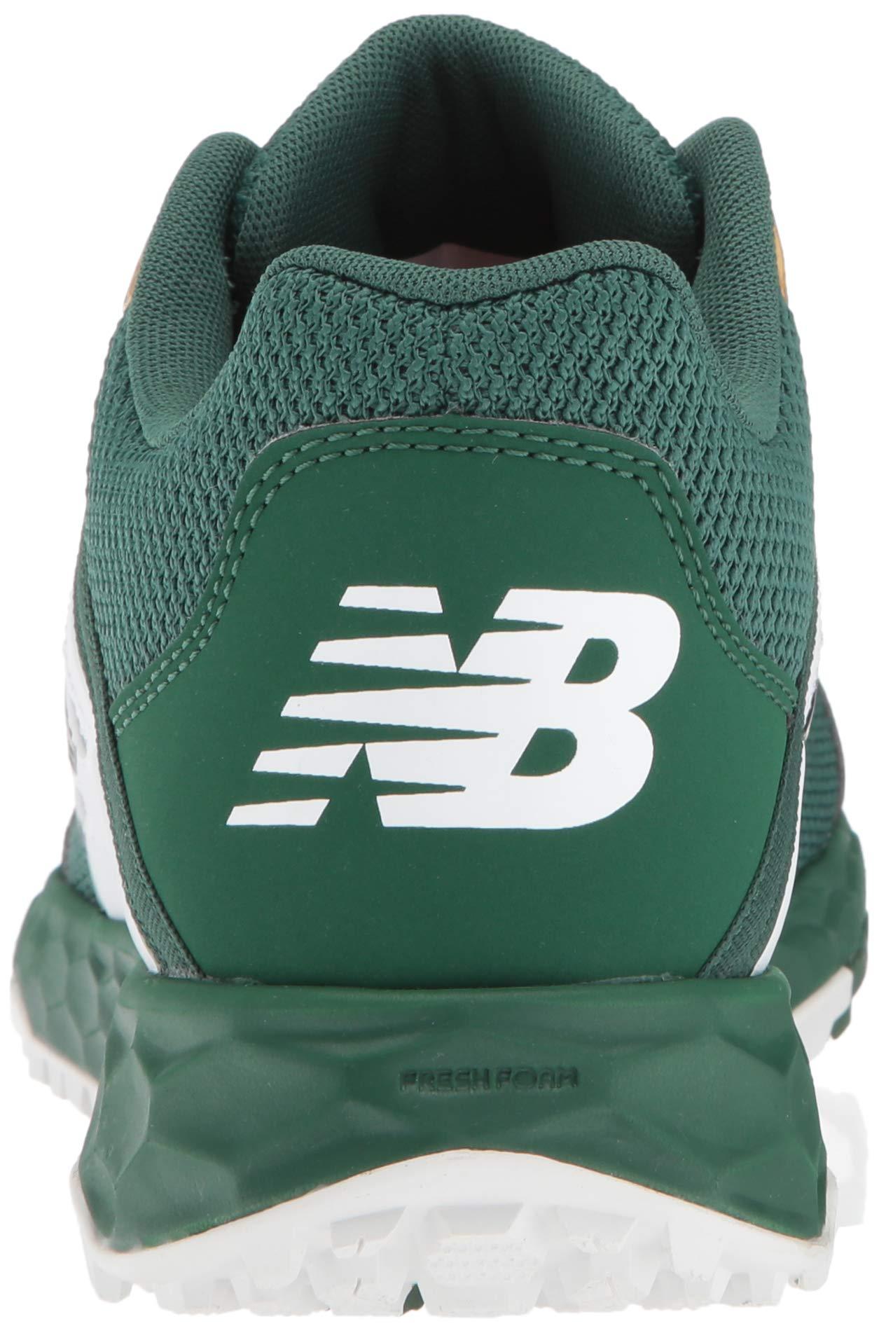 New Balance Men's 3000v4 Turf Baseball Shoe, Green/White, 5 D US by New Balance (Image #2)