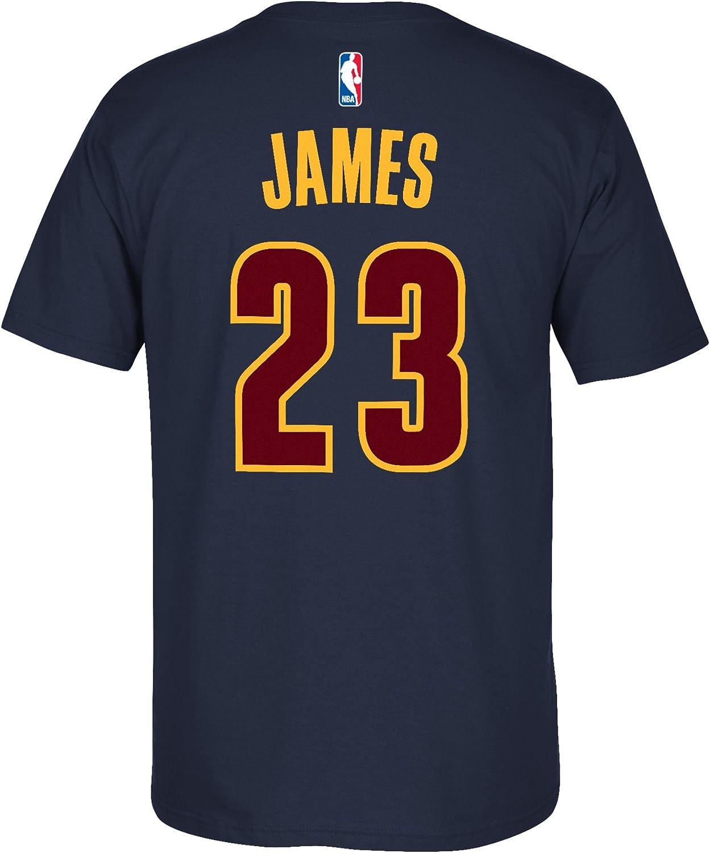adidas Cleveland Cavaliers Lebron James Azul Marino Alternate T – Camiseta