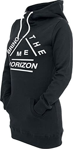 Bring Me The Horizon Pieces Jersey con Capucha Mujer Negro L