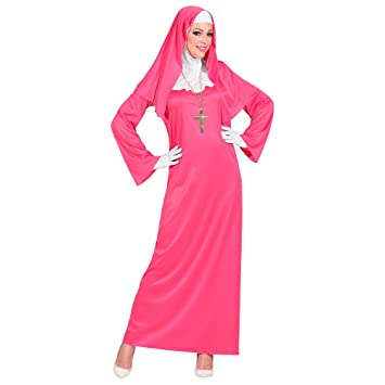 WIDMANN 09954 - Disfraz para mujer, color rosa: Amazon.es ...